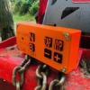 Dálkové ovládání navijáku pro lesní traktor