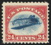 Inverted Jenny 24 cent poštovní známka
