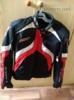 Kožená bunda moto RST dámská