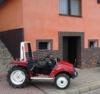 Malotraktor dvoumístný