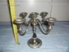 Nádherný svícen s pěti žlábky na svíčky - foto 1
