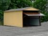 Plechové garáže v AKCI - v ceně doprava a montáž