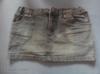 Riflová sukně - foto 1