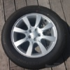 Sada Alu kol+pneu Subaru