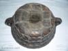 Starodávná keramická bábovka zpevněná dráty - foto 1