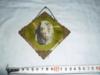 Starodávný modlitební skleněný obrázek - IKONA - foto 1
