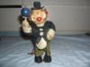 Starý klaun na klíček-FUNKČNÍ - foto 1