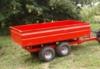 Traktorový návěs s tandemovou nápravou 2t