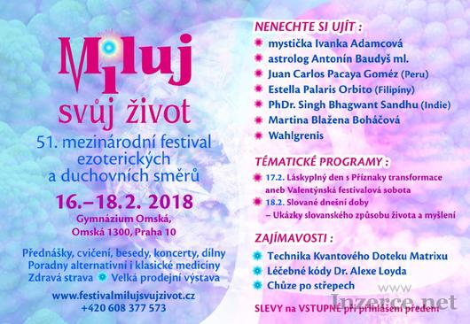 51. mezinárodní  festival Miluj svůj život