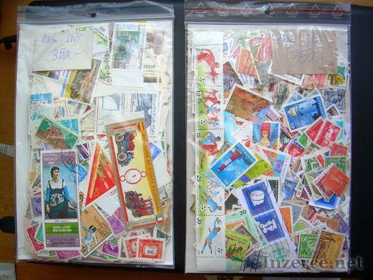 800 pošt. známek Svět