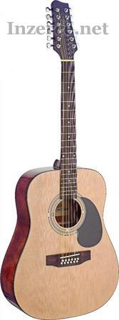 Akustická 12-ti strunná kytara