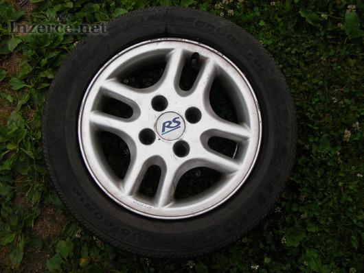 Alu kola (disky RS s pneu 185 / 60 / R14)