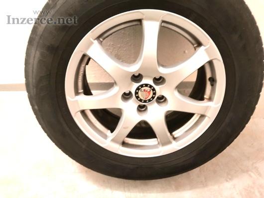 Alu kola R17 + zimní pneu