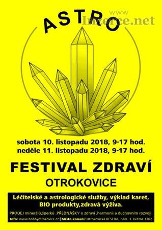Astro-Festival zdraví, OTROKOVICE, 10.-11.11.2018