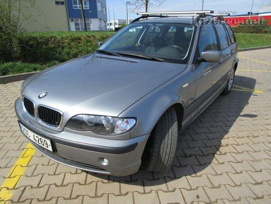 BMW 320D combi se speciálním audio