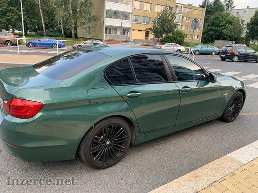 BMW 5 F10 po kompletních rozvodech