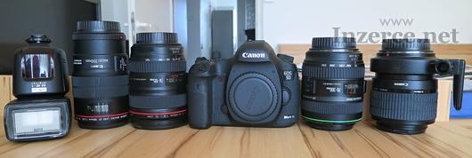 CANON 5D Mark III + objektivy