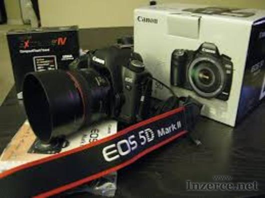 Canon EOS 5D Mark II Full Frame DSLR fotoaparáty