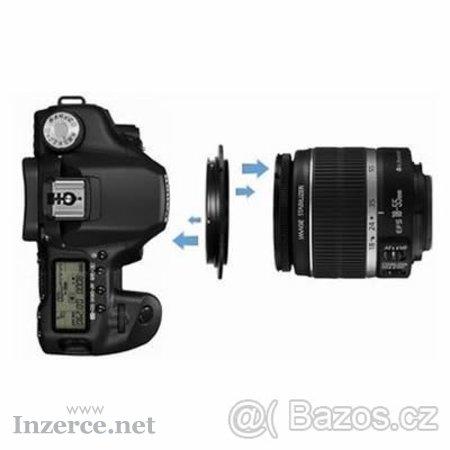 Canon EOS kroužek na Makro pro Canon 18-55 atd