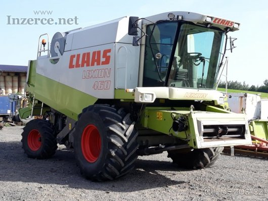 Claas lexion 460