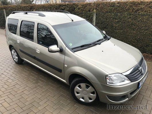 Dacia logan, 7 míst, 1,5 DCi diesel