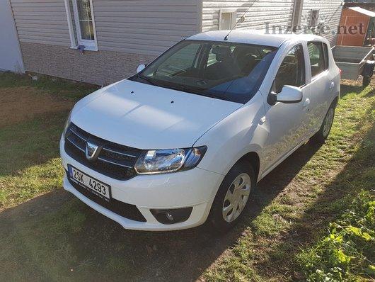 Dacia Sandero 900 tCe, benzín+LPG