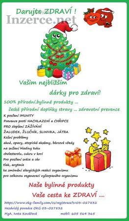 Darujte zdraví pod stromeček