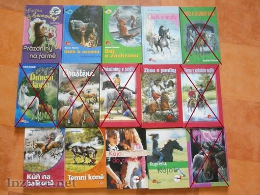 Dětské knížky o koních (pony club)