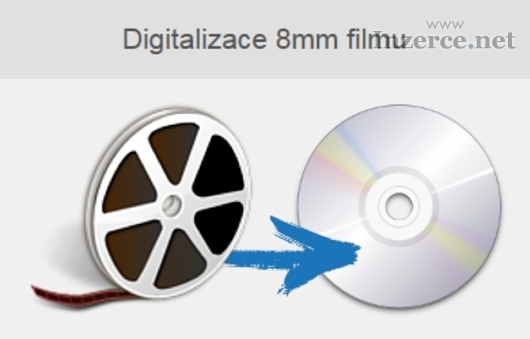 Digitalizace 8mm filmu na DVD
