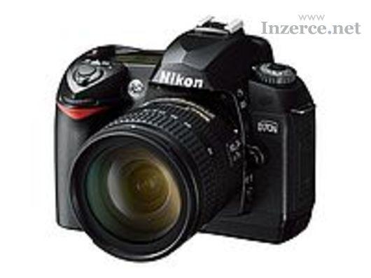 Digitální zrcadlovka Nikon D70s