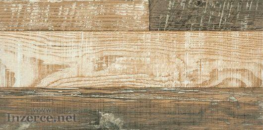 Dlažba mix dekor dřevo
