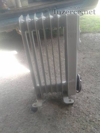 Elektrický radiátor, krb