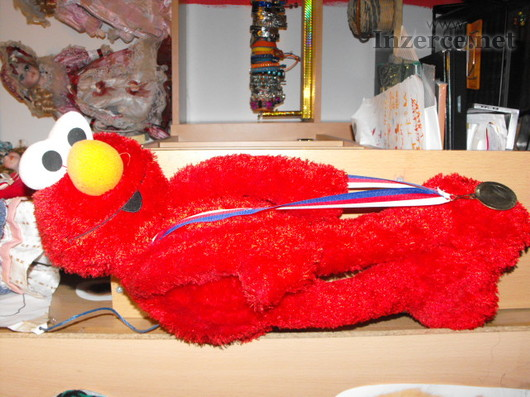 Elmo plyšový