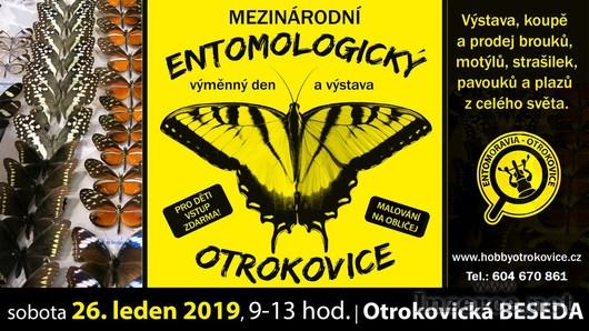 Entomologická výstava, OTROKOVICE, 26.1.2019