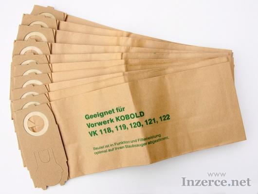 Filtrační sáčky Vorwerk 118 až 122