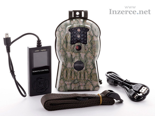 Fotopast ScoutGuard SG 570-10M + 8GB SD karta, bat