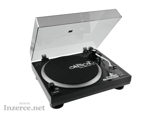 Gramofon řemínkový pohon Omnitronic