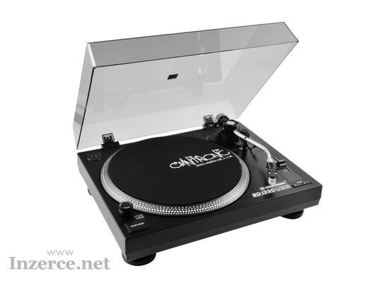 Gramofon značka Omnitronic
