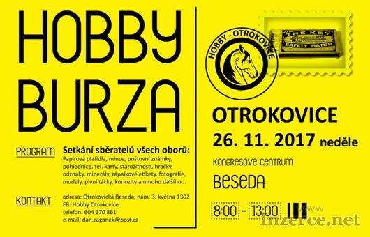 HOBBY burza v Otrokovicích, 26.11.2017