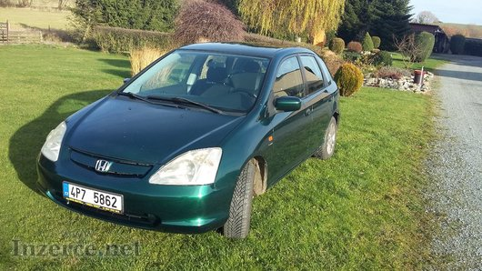 Honda Civic 1.6 top stav