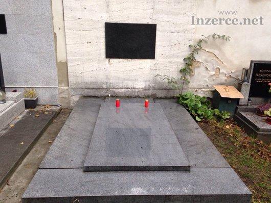 Hrobku na Proseckém hřbitově