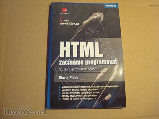 HTML - začínáme programovat, 3. vydání