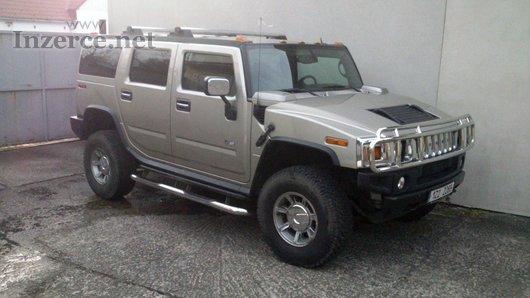Hummer H2 6.0LV8 - najeto jen 21000