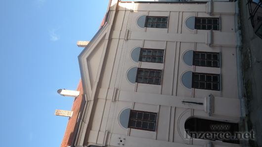 Inzerát synagoga Slavonice 5000