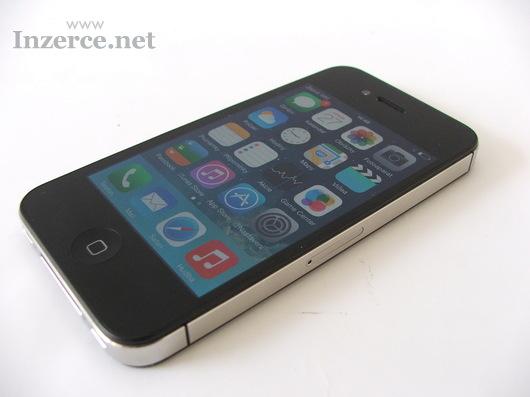 IPhone 4s 16gb black - jako nový - záruka 2 měsíce