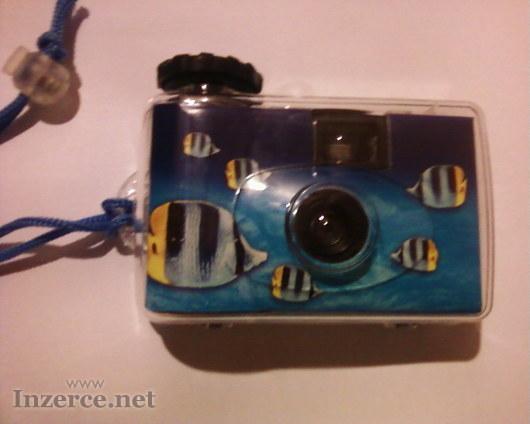 Jednorázový vodotěsný fotoaparát 27 fotek