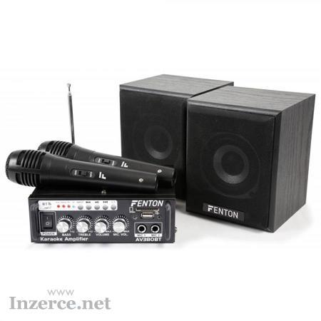 Karaoke Audio Set s MP3 aFM
