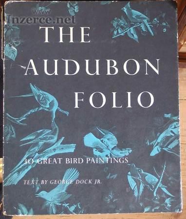 Knihtisk Audubon portfolio ptáci