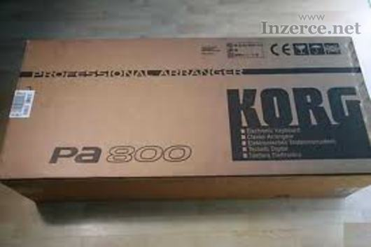 Korg Pa800 Digital Keyboard Synthesizer Arranger:
