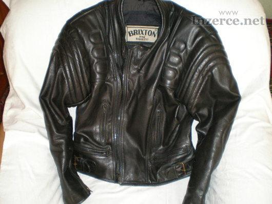 Kožená moto bunda Brixton